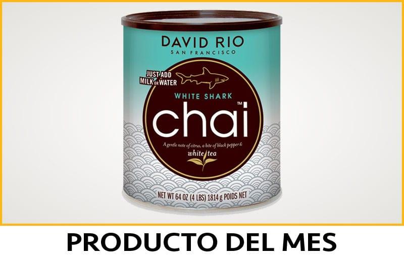 David Rio Chai Shark White - Producto del mes