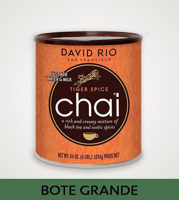 Té Chai David Rio Bote Grande 1816 grs