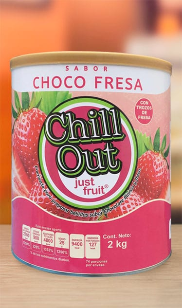 ChillOut Just Fruit