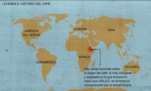 Infografía del café