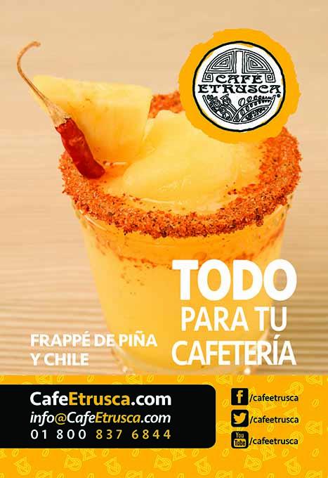 Frappé de Piña y Chile