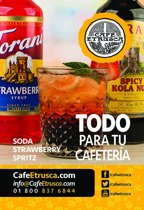 Soda Strawberry Spritz