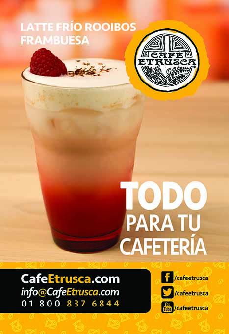 Latte Frío Rooibos Frambuesa