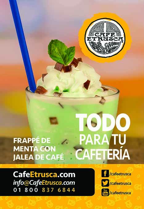 Frappé de Menta con Jalea de Café