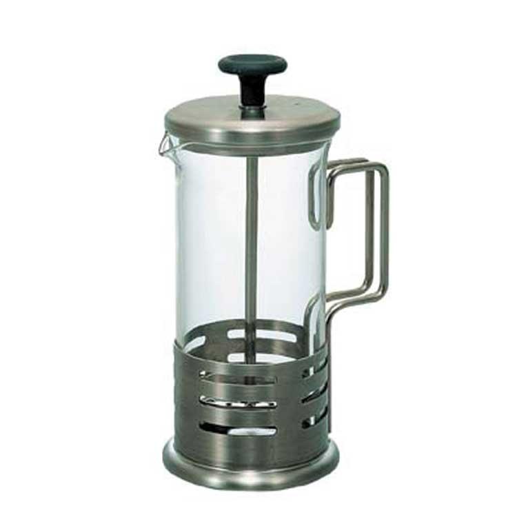 Accesorios para preparar té - Hario Prensa Francesa 300 ml piston negro