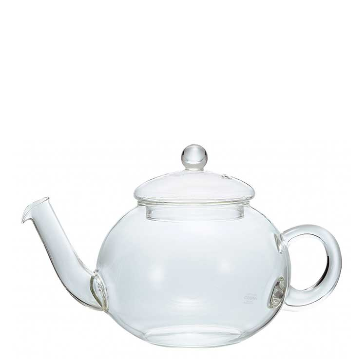 Accesorios para preparar té Hario Tetera Jumping Tea Pot Donau 800 ml con filtro en cuello