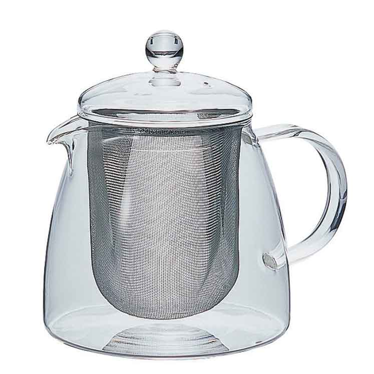 Accesorios para preparar té - Hario Tetera Leaf Tea Pot Pure 700 ml