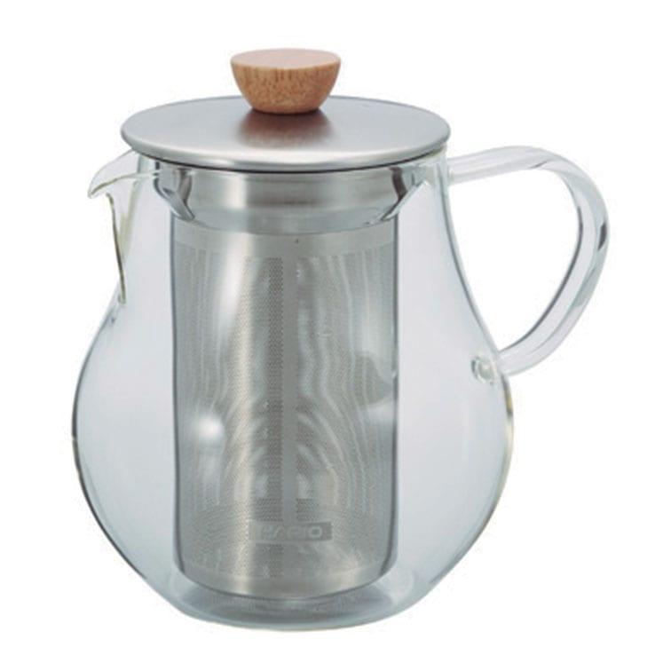 Accesorios para preparar té - Hario Tetera Tea Pitcher con Tapa e Infusor 700 ml