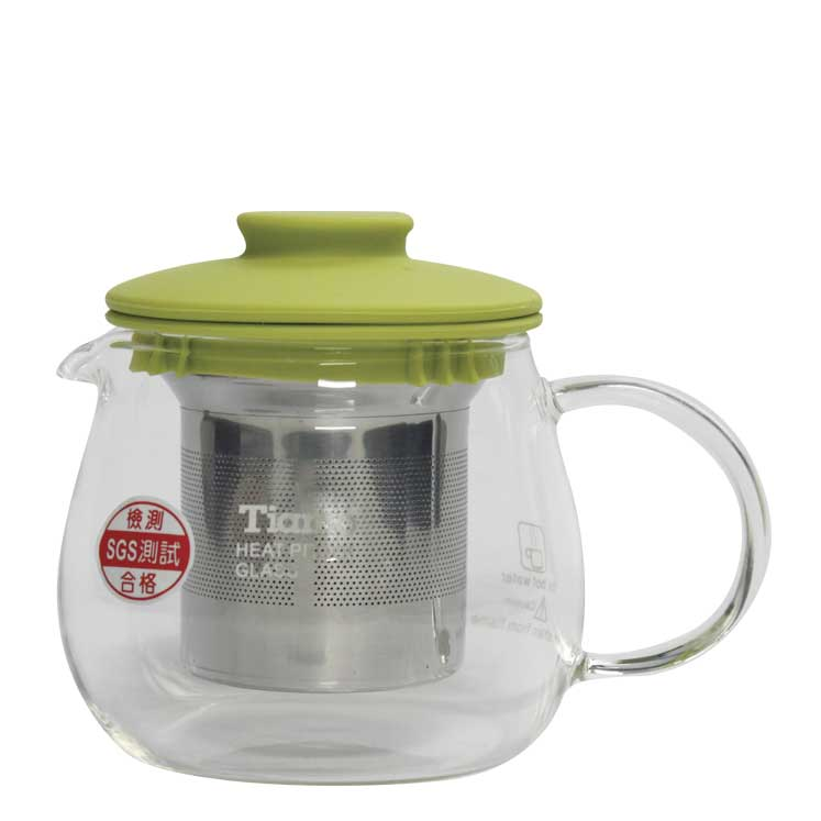 Accesorios para preparar té - Tiamo Tetera Heatpot Glass 400 ml