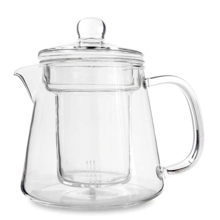 Accesorios para preparar té - Yama Glass Elliepot con infusor 530 ml