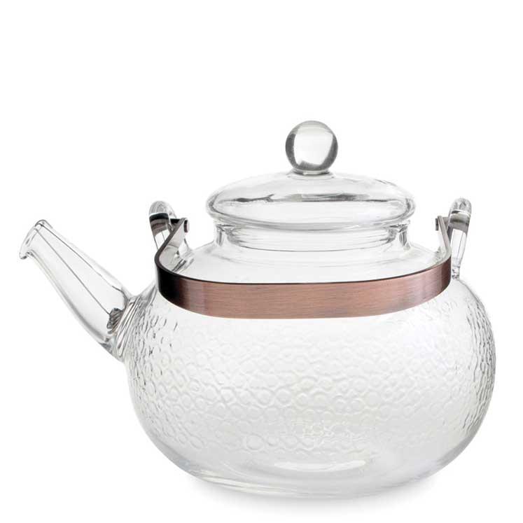 Accesorios para preparar té - Yama Glass Sassy Tea Kettle 710 ml -