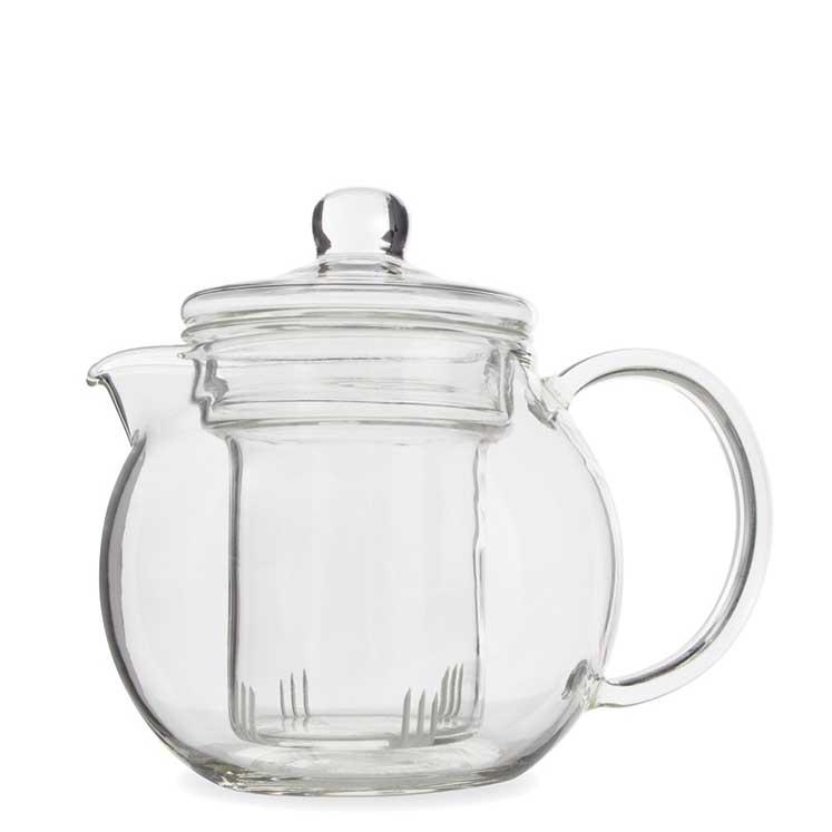 Accesorios para preparar té -Yama Glass Teapot con infusor