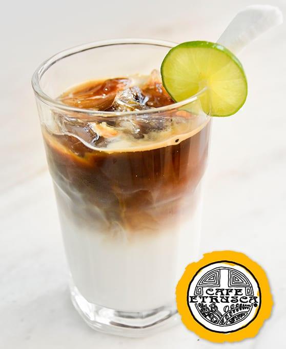Latte Frio de Coco