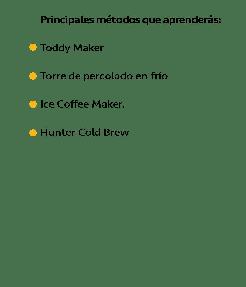 Temario Cold Brew 2