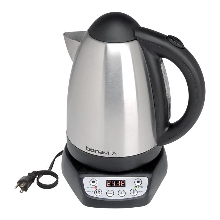 Bonavita gooseneck kettle jarra electrica para agua de 1700 mililitros