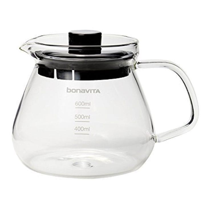 Bonavita Jarra de vidrio de 600 ml