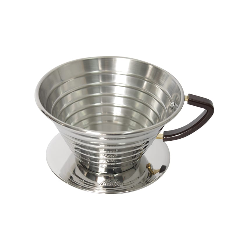 Dripper Kalita Wave 185 Metal Acero Pulido