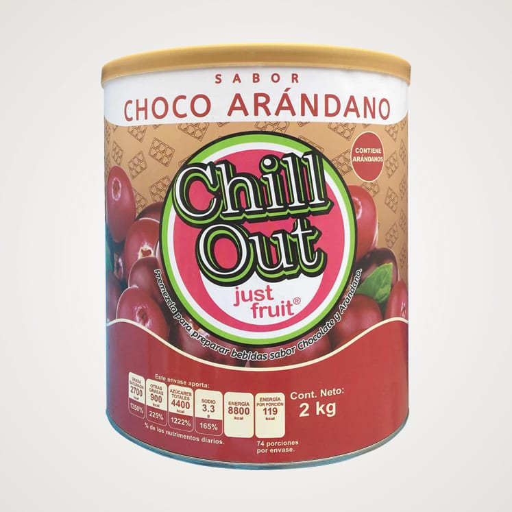 ChillOut Just Fruit Choco Arándano