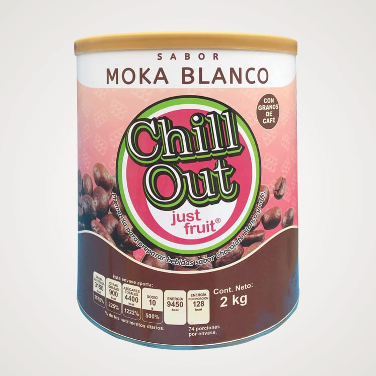 ChillOut Just Fruit Moka Blanco