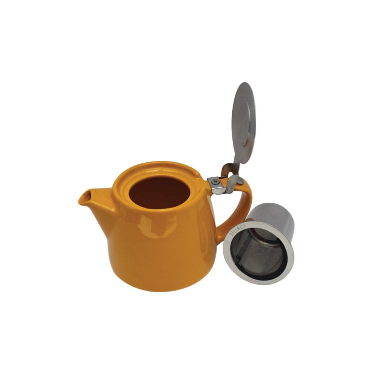 ForLife Jarra infusionadora de cerámica con tapa de metal 530 ml