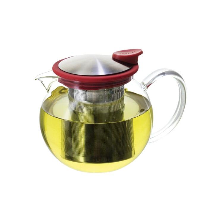 ForLife Jarra infusionadora de vidrio con tapa 1280 ml