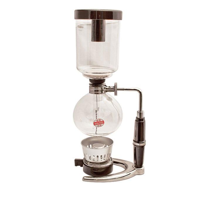 Tiamo Sifón japonés con lampara de gas o lampara de alcohol 3 a 5 tazas