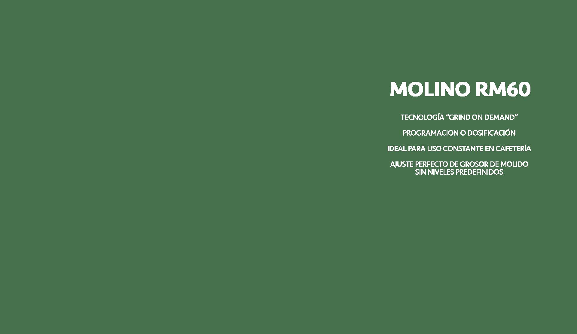 Molino Reneka RM60 Texto