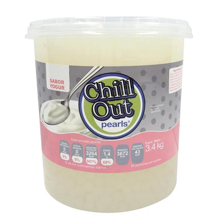 Perlas Explosivas ChillOut Pearls Sabor Yogur