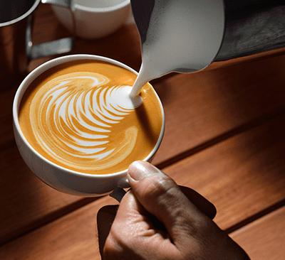 Taller de arte latte