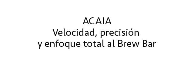 Acaia Descripcion