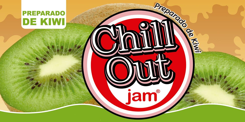 ChillOut Jam Preparado de Fruta Kiwi
