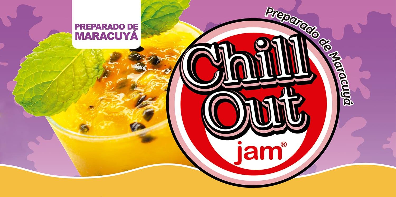 ChillOut Jam Preparado de Fruta Maracuyá