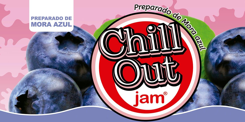 ChillOut Jam Preparado de Fruta Mora Azul