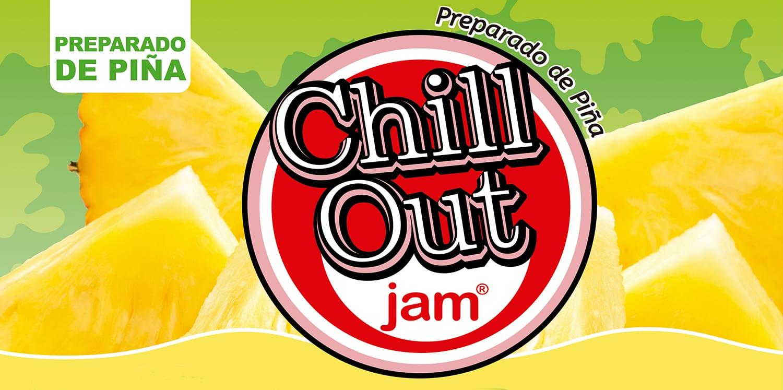 ChillOut Jam Preparado de Fruta Piña