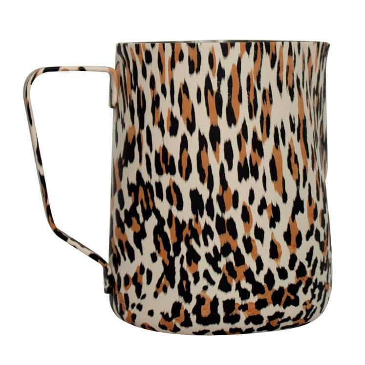 Jarras para espumar leche Earth Leopardo