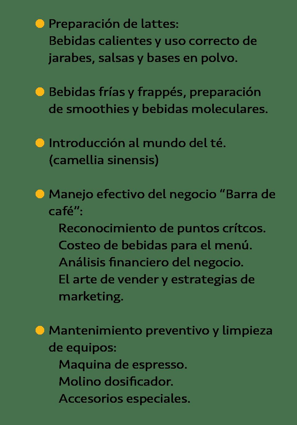 Arranque de barra de café - Emprendiendo m -negocio de una barra de café y cafetería - Aprenderás-02