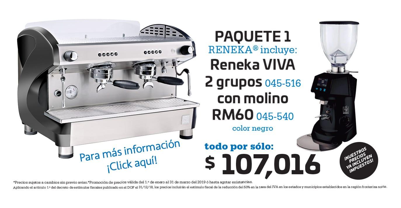 Paquete Reneka Cafetería