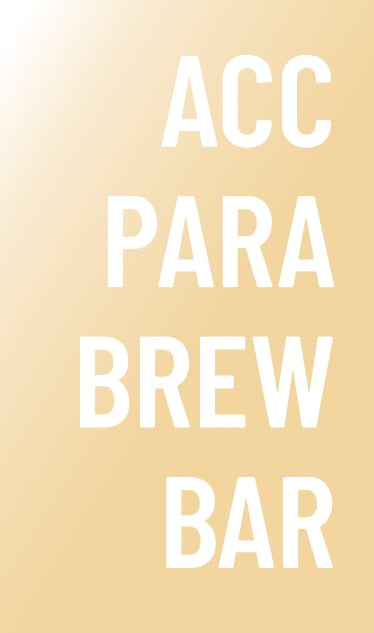 Accesorios para brew bar