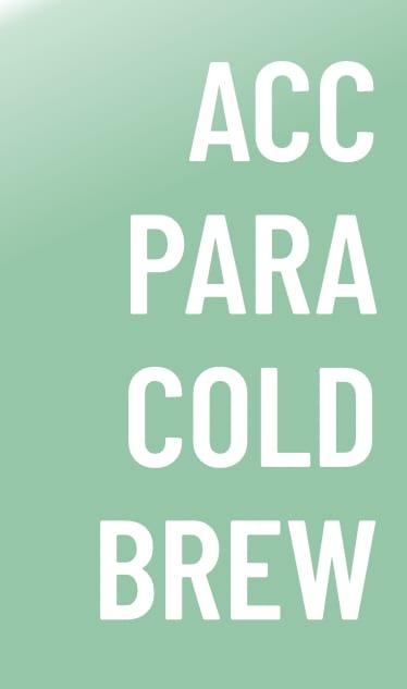 Accesorios para cold brew
