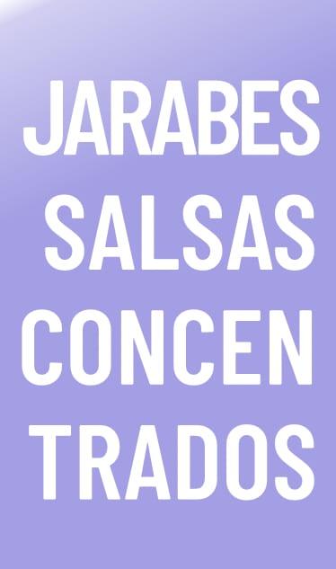 Jarabes Salsas Concentrados Torani