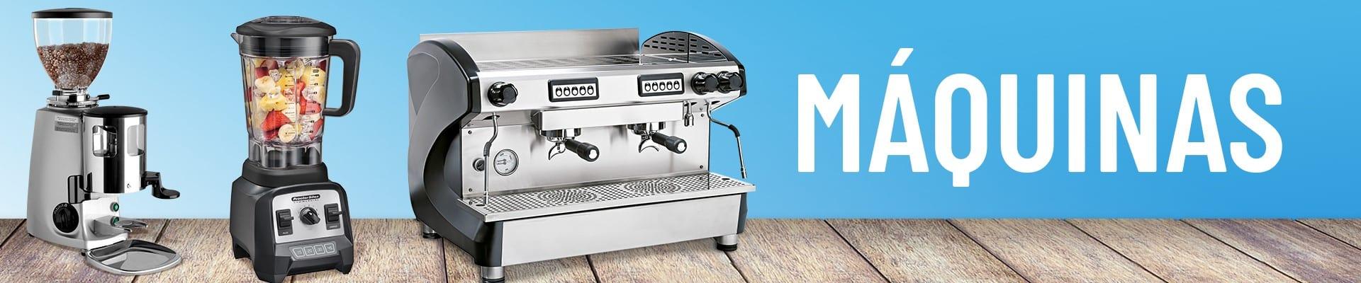 Máquinas para cafeterías