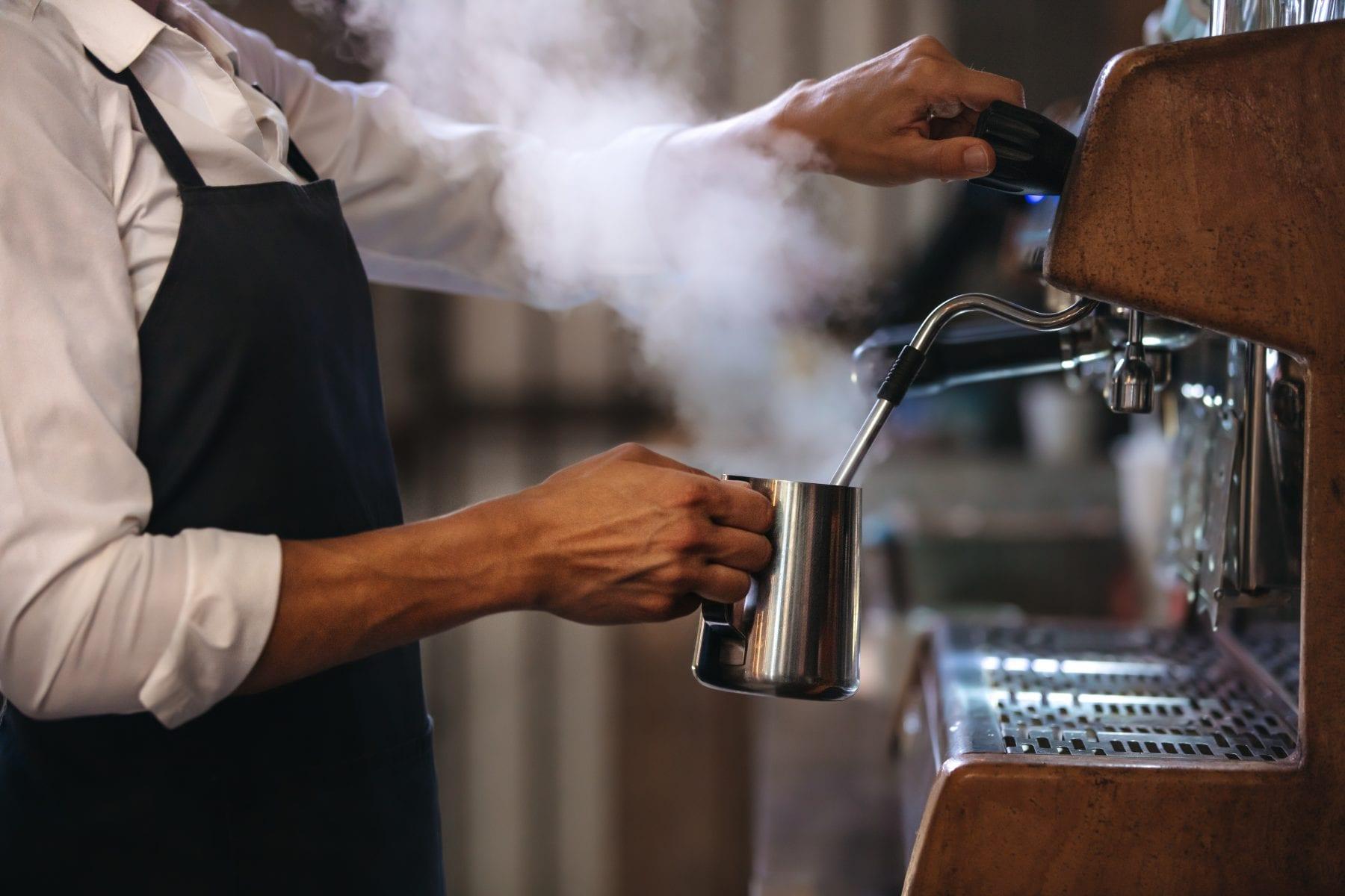 Maquinaria y equipo para cafeterías