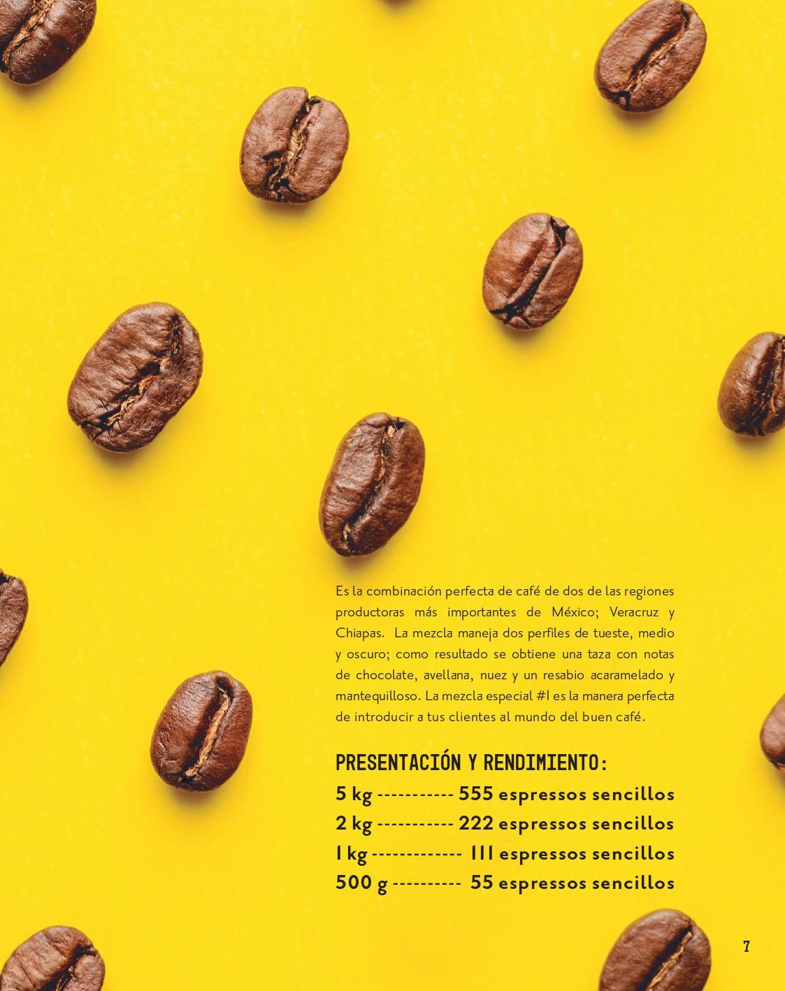 Café Mezcla Especial #1