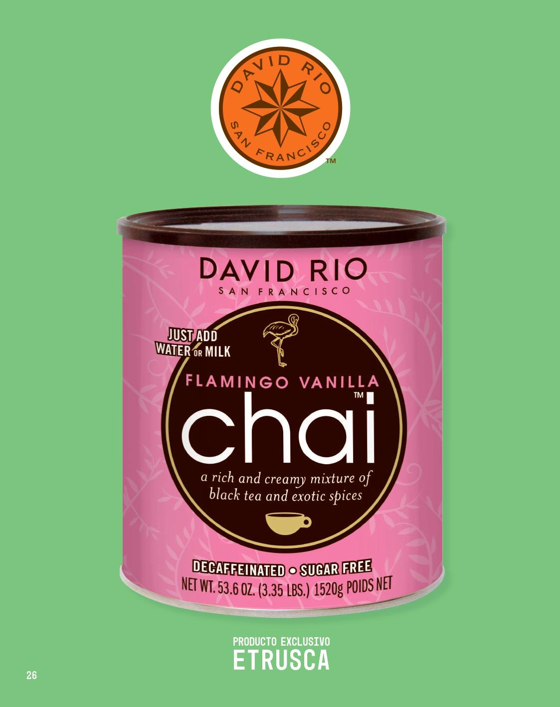 Chai David Rio