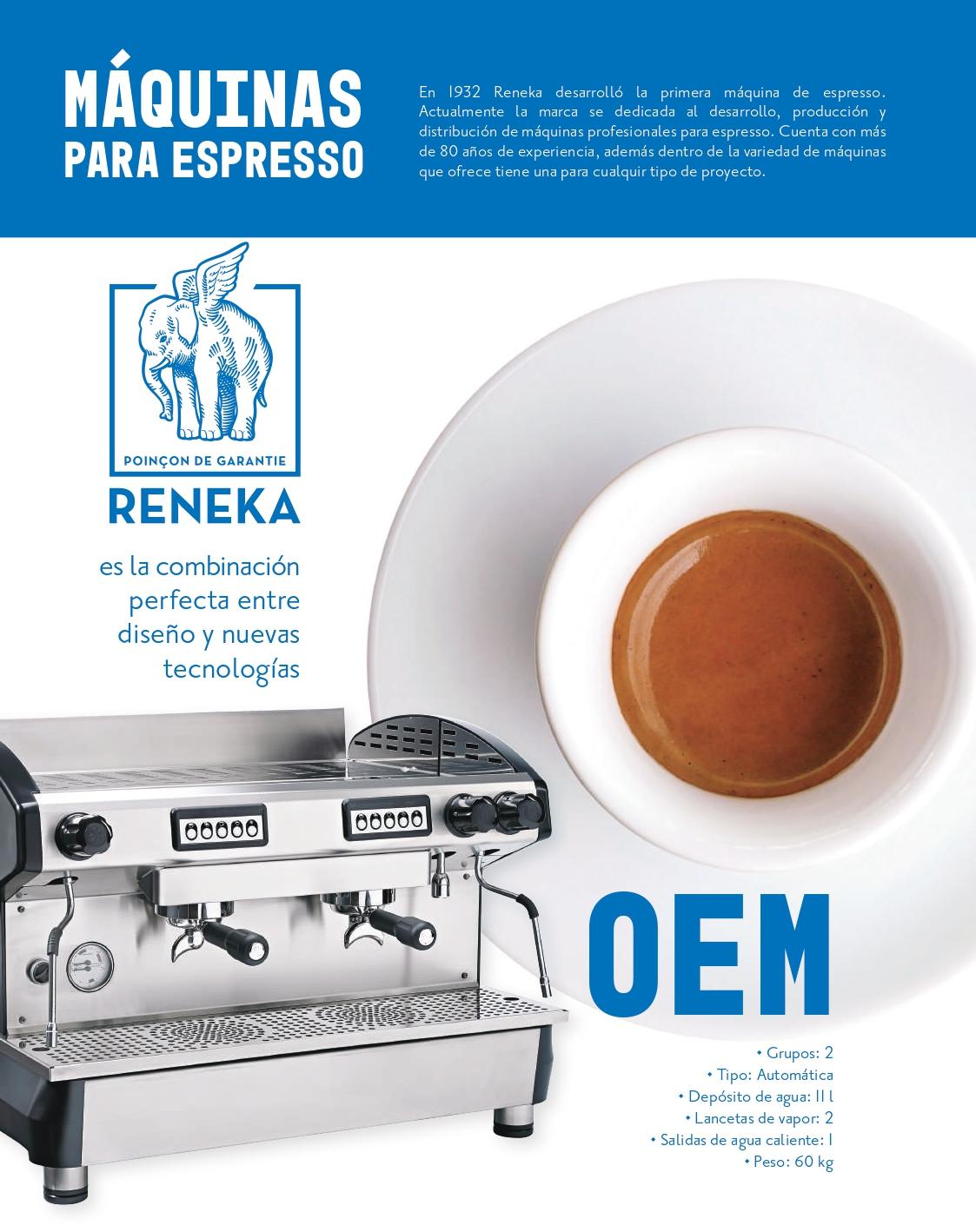 Maquinas de espresso