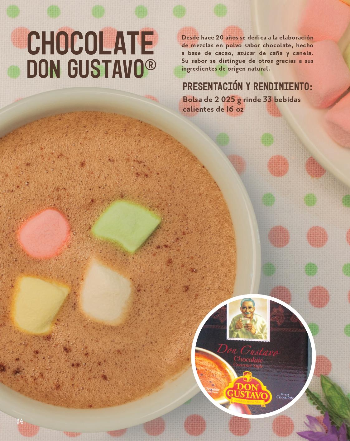 Chocolate en polvo para preparar bebidas 02