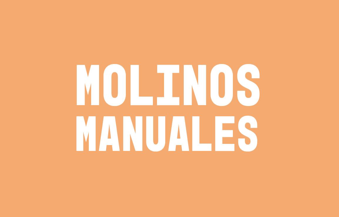 Molinos manuales