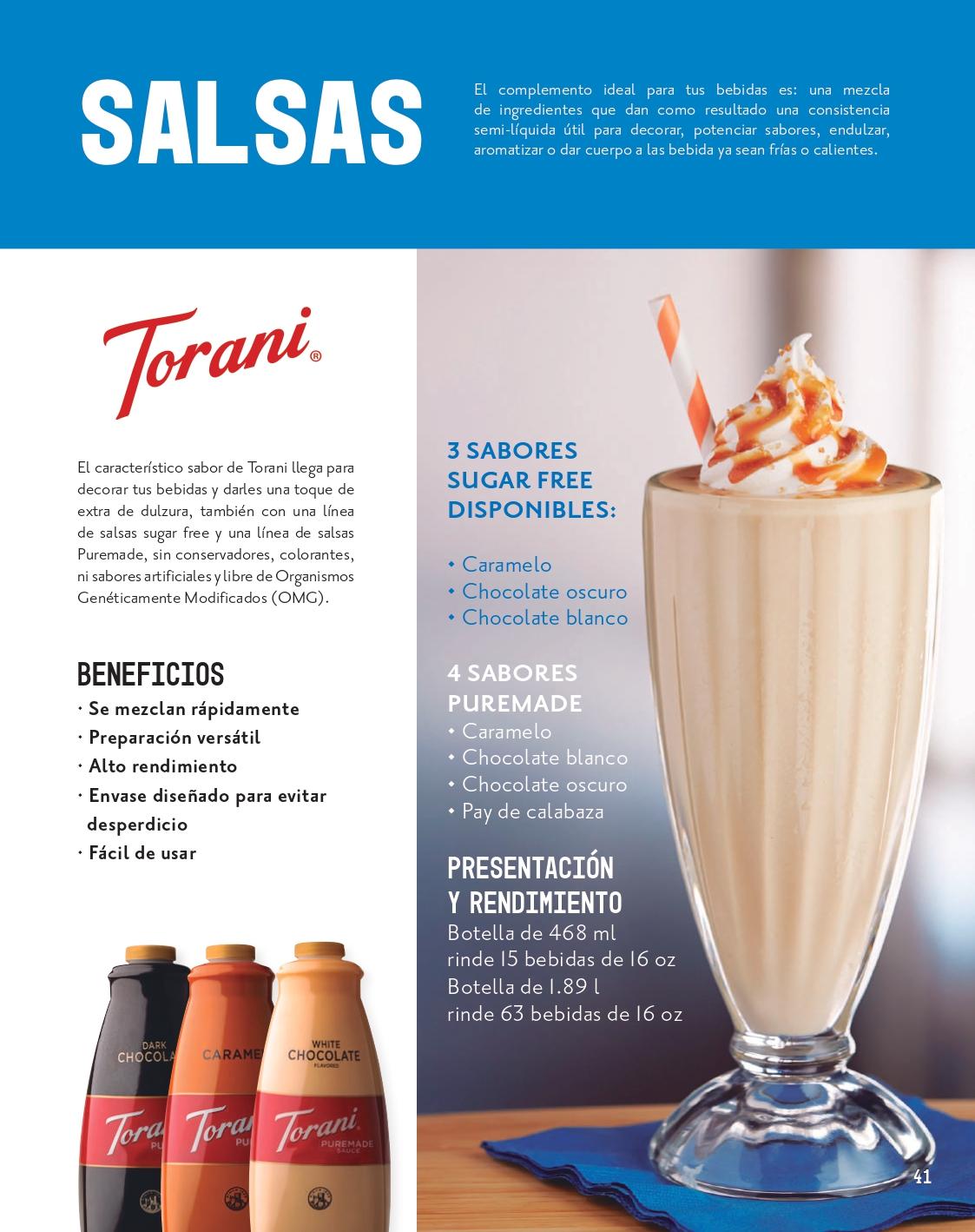 Salsas para complementar el sabor y apariencia de tus bebidas 01